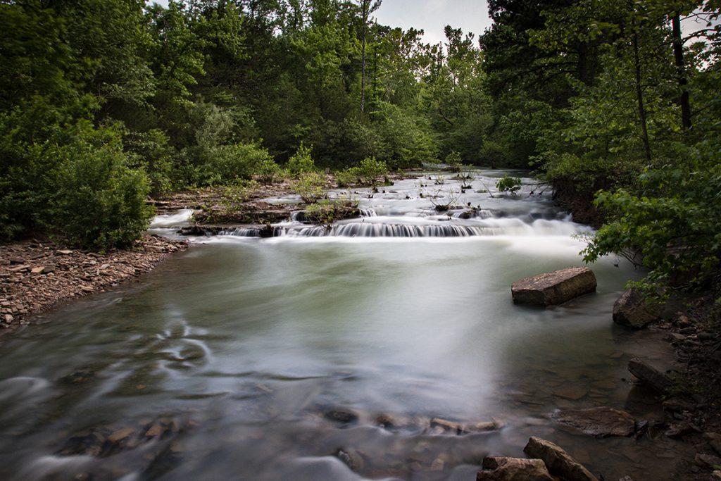 Above Falling Water Falls