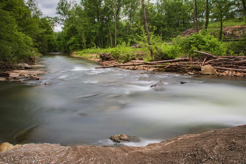 Mill Creek Spillway below Marble Falls