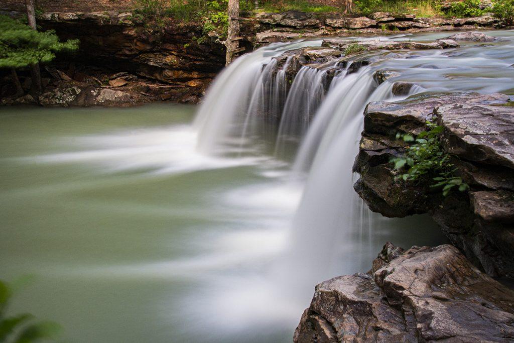 Falling Water Falls Above