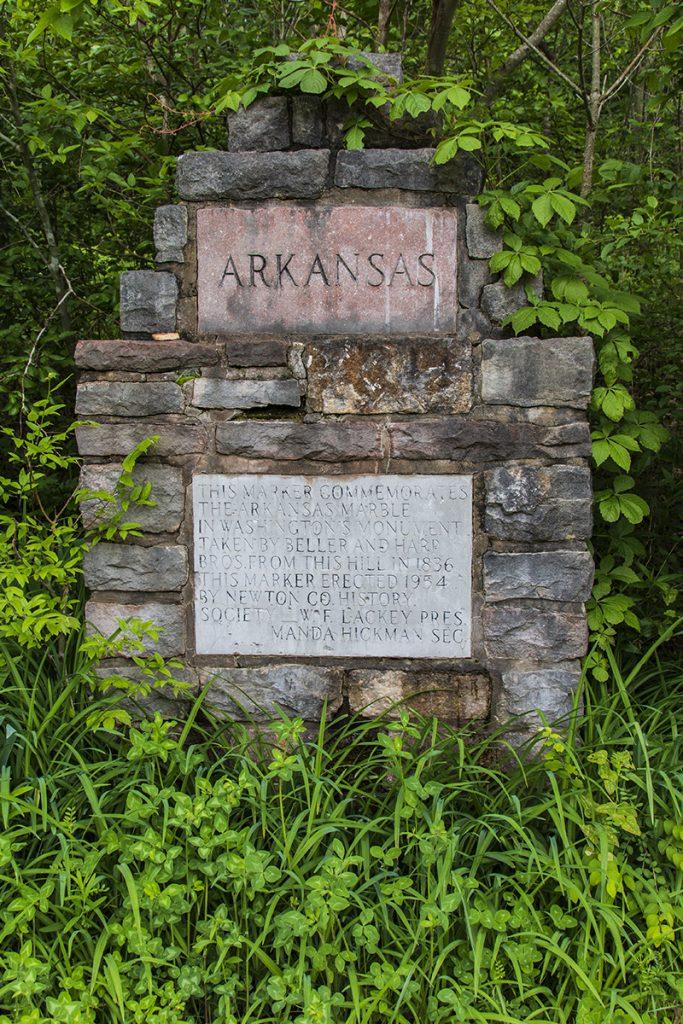 marble falls landmark sign