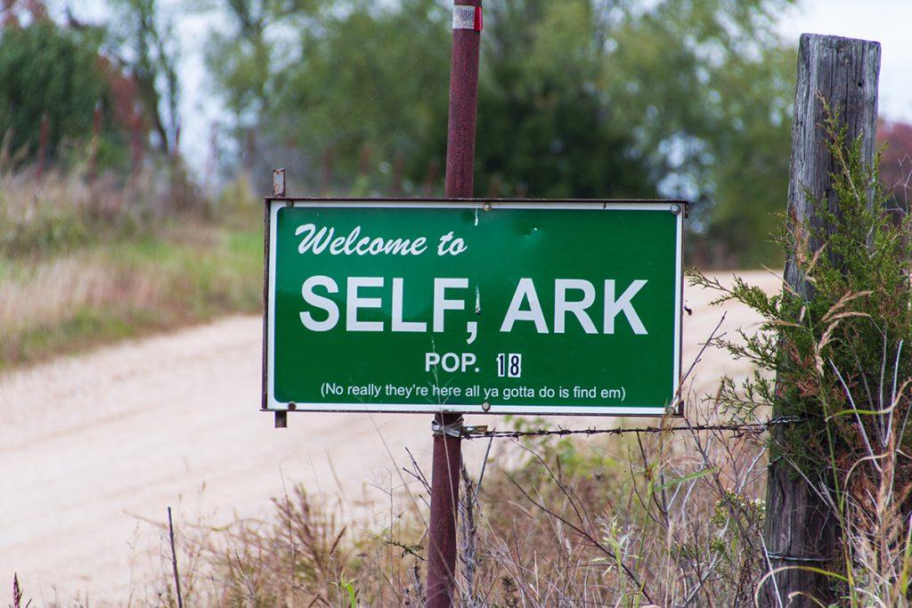 Self City Sign