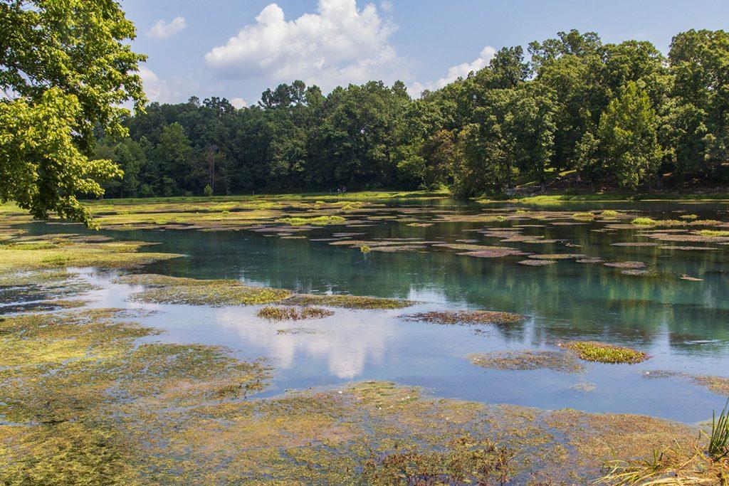 Mammoth Spring Lake