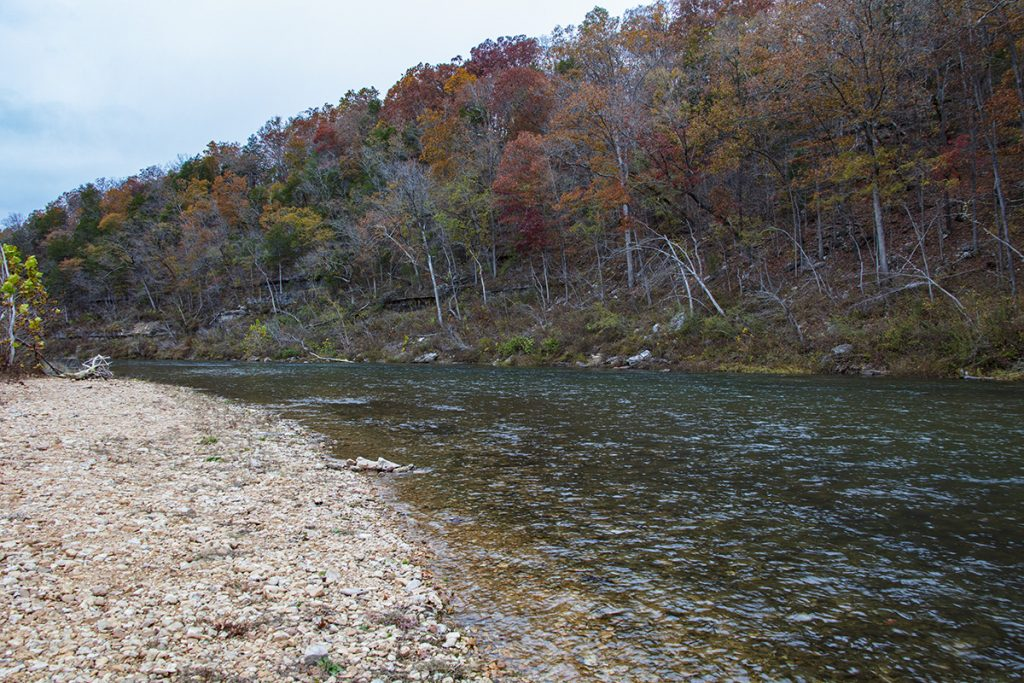 North Fork River at Althea Spring