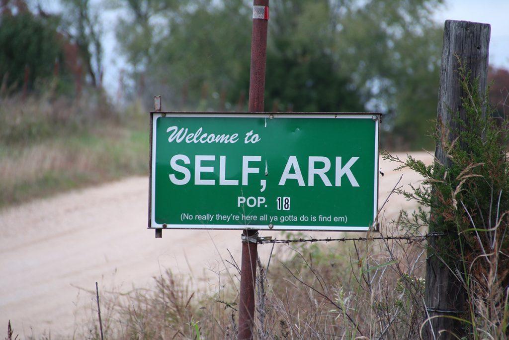 self arkansas sign