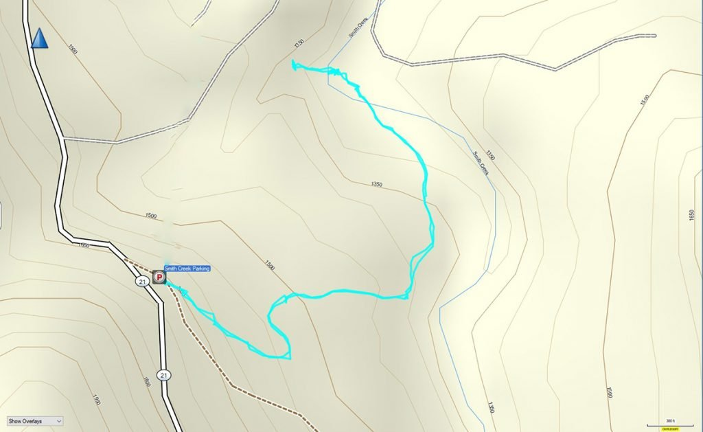 Elise Falls GPS Track
