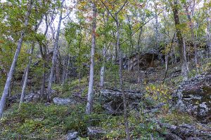 Indian Rockhouse trail