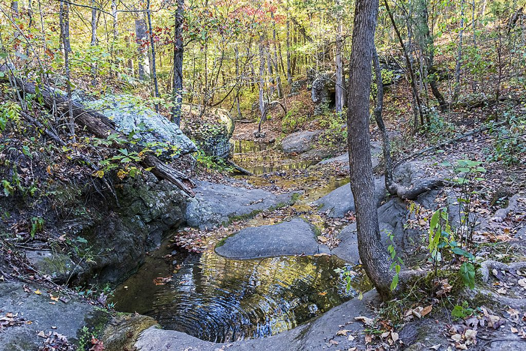 Indian Rockhouse Trail Natural Bathtub