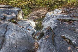sculpted rocks