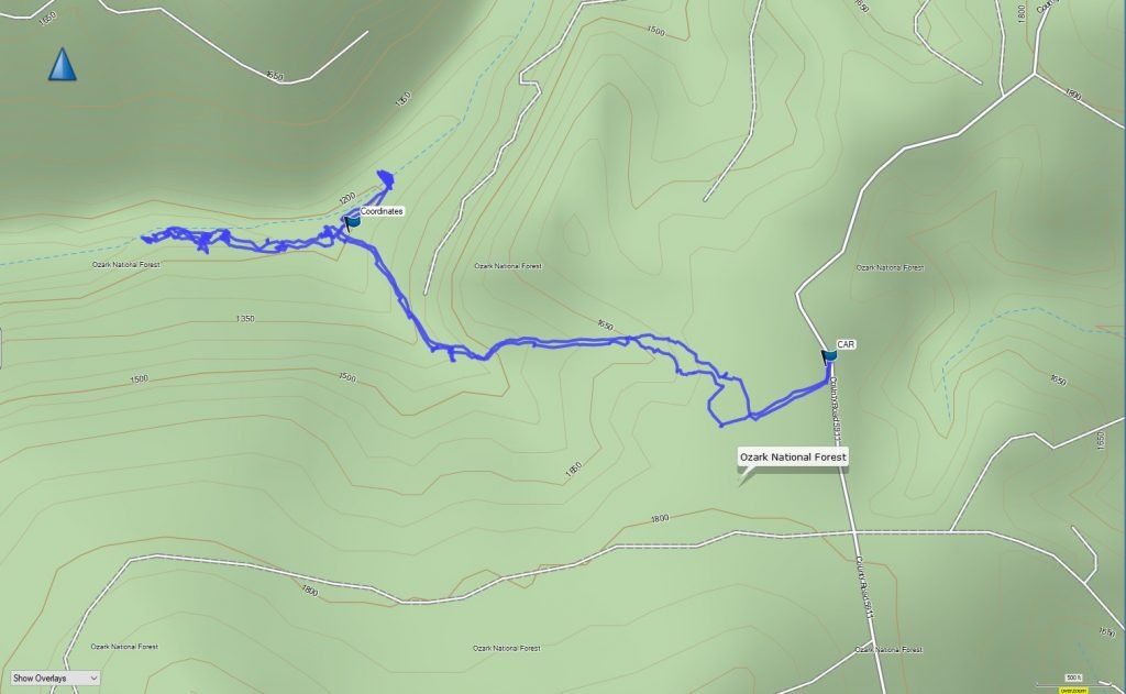 bear creek canyon gps track