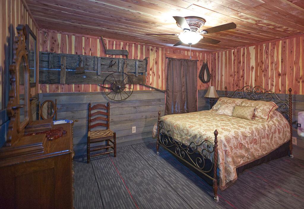 Cold Creek Manor Master Bedroom