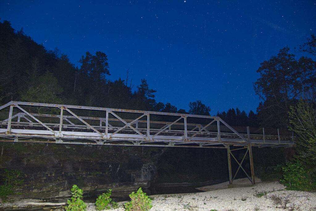 Barkshed recreation area Foot bridge