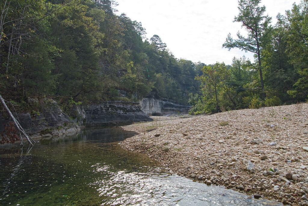 Barkshed recreation area Sylamore creek 1